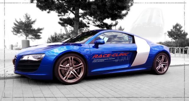 Audi R8 raceclinic