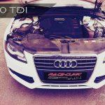 Der Audi A4 ist mit seinen 143PS ...